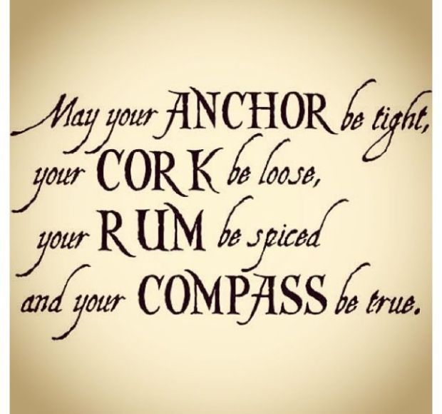May your anchor be tight quote