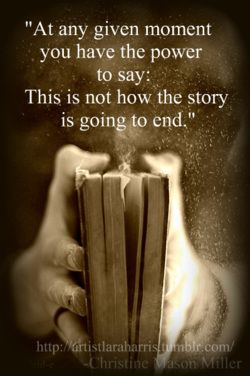 How The story ends quote